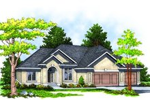Dream House Plan - Traditional Exterior - Front Elevation Plan #70-280