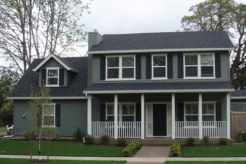 Home Plan - Cape Cod designed home, elevation