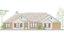 Dream House Plan - European Exterior - Front Elevation Plan #80-162