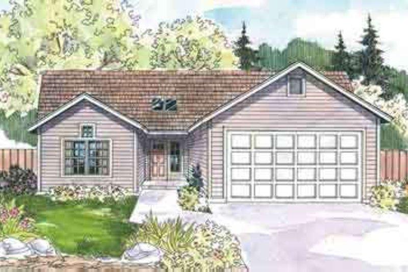 Architectural House Design - Modern Exterior - Front Elevation Plan #124-568