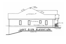 Home Plan - European Exterior - Other Elevation Plan #20-1820