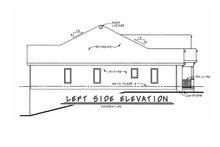 Home Plan - European Exterior - Other Elevation Plan #20-1820