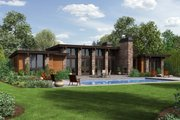 Modern Style House Plan - 3 Beds 2.5 Baths 2557 Sq/Ft Plan #48-476