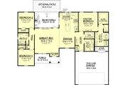 Farmhouse Style House Plan - 3 Beds 2 Baths 1609 Sq/Ft Plan #430-77 Floor Plan - Main Floor