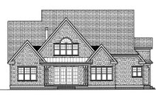 Home Plan - Craftsman Exterior - Rear Elevation Plan #413-813