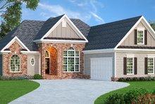 Home Plan - European Exterior - Front Elevation Plan #419-126