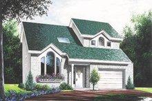 Home Plan - Modern Exterior - Front Elevation Plan #23-208