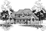 Traditional Style House Plan - 4 Beds 2.5 Baths 2562 Sq/Ft Plan #20-2006 Exterior - Other Elevation