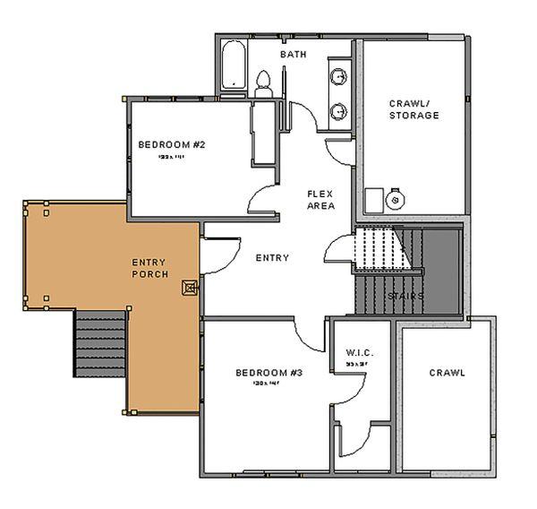 Dream House Plan - Craftsman Floor Plan - Lower Floor Plan #895-92