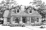 Cottage Style House Plan - 3 Beds 2 Baths 1892 Sq/Ft Plan #120-146 Exterior - Front Elevation