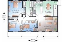 Ranch Floor Plan - Main Floor Plan Plan #23-857