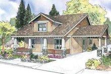 Dream House Plan - Craftsman Exterior - Front Elevation Plan #124-611