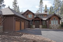 Craftsman Exterior - Front Elevation Plan #892-13