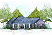 European Style House Plan - 4 Beds 2 Baths 2000 Sq/Ft Plan #36-483
