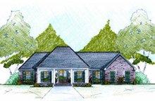 Home Plan - European Exterior - Front Elevation Plan #36-483