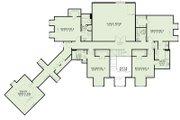 European Style House Plan - 6 Beds 5 Baths 6363 Sq/Ft Plan #17-2505 Floor Plan - Upper Floor Plan
