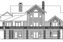 Dream House Plan - European Exterior - Rear Elevation Plan #124-586