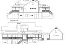 Architectural House Design - Farmhouse Exterior - Rear Elevation Plan #56-222