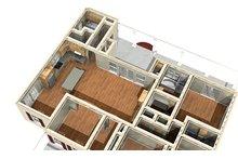 Southern Floor Plan - Other Floor Plan Plan #44-189