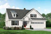 Country Style House Plan - 4 Beds 3 Baths 2479 Sq/Ft Plan #929-1081 Exterior - Front Elevation