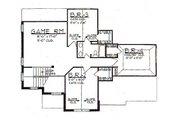 European Style House Plan - 4 Beds 2.5 Baths 2766 Sq/Ft Plan #62-145 Floor Plan - Upper Floor Plan