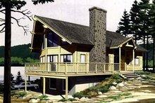 Home Plan - Bungalow Exterior - Front Elevation Plan #320-155