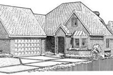 House Design - European Exterior - Front Elevation Plan #410-341