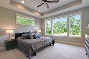 Traditional Style House Plan - 4 Beds 3.5 Baths 4606 Sq/Ft Plan #928-329 Interior - Master Bedroom