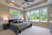 Architectural House Design - Traditional Interior - Master Bedroom Plan #928-329