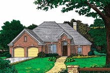 Home Plan - European Exterior - Front Elevation Plan #310-769