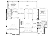 Farmhouse Style House Plan - 3 Beds 3.5 Baths 2743 Sq/Ft Plan #927-987 Floor Plan - Main Floor Plan