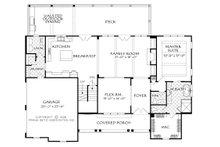 Farmhouse Floor Plan - Main Floor Plan Plan #927-987