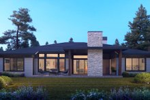 Dream House Plan - Contemporary Exterior - Other Elevation Plan #1066-115