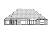 Dream House Plan - Traditional Exterior - Rear Elevation Plan #84-487