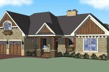 Craftsman Exterior - Front Elevation Plan #51-517