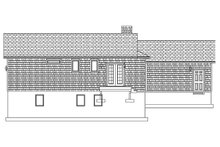 Ranch Exterior - Rear Elevation Plan #1060-38