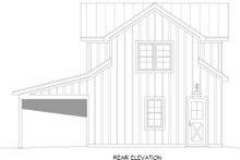 House Plan Design - Country Exterior - Rear Elevation Plan #932-355