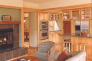 Prairie Style House Plan - 3 Beds 2.5 Baths 2464 Sq/Ft Plan #454-1 Interior - Family Room