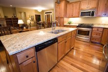Dream House Plan - Kitchen photo of Craftsman style home