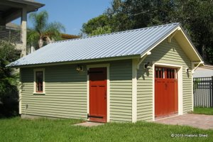 Craftsman Exterior - Front Elevation Plan #922-5