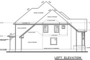 European Style House Plan - 4 Beds 3.5 Baths 2508 Sq/Ft Plan #20-261 Exterior - Other Elevation