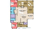 Country Style House Plan - 4 Beds 3 Baths 2453 Sq/Ft Plan #63-427 Floor Plan - Main Floor Plan