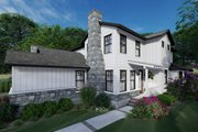 Cottage Style House Plan - 6 Beds 4.5 Baths 3038 Sq/Ft Plan #120-267 Exterior - Other Elevation