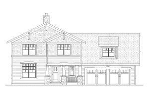Craftsman Exterior - Front Elevation Plan #901-55