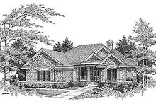 Traditional Exterior - Front Elevation Plan #70-275