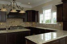 Kitchen - 4500 European style home