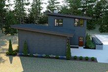 House Plan Design - Contemporary Exterior - Rear Elevation Plan #1070-14
