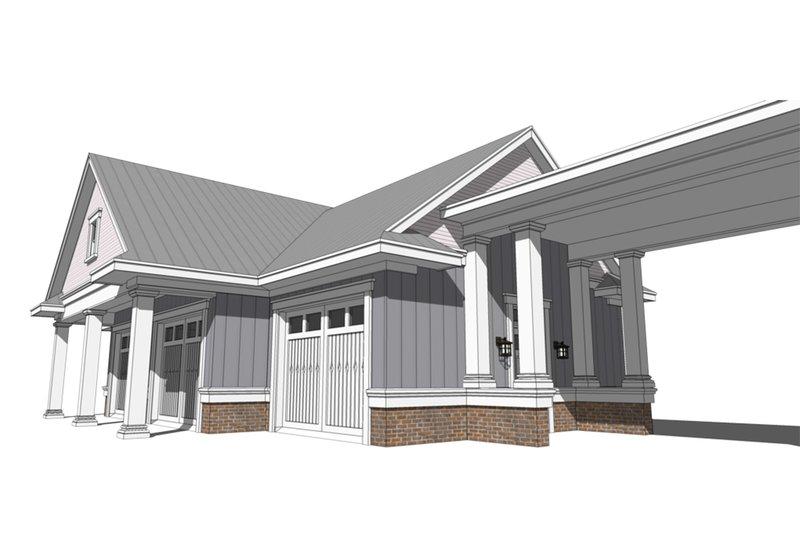Farmhouse Exterior - Other Elevation Plan #64-249 - Houseplans.com