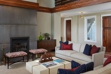 House Design - Country Interior - Family Room Plan #928-322