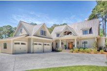 Dream House Plan - Farmhouse Exterior - Front Elevation Plan #928-10